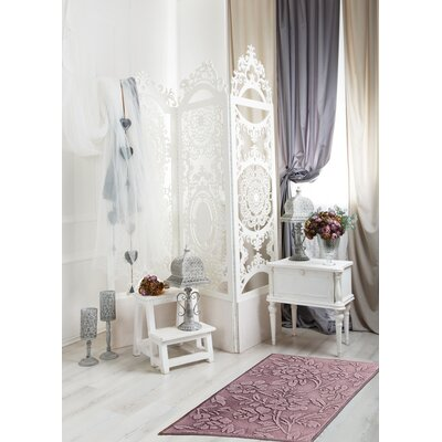 Branson Hand-Woven Dusty Orchid Area Rug