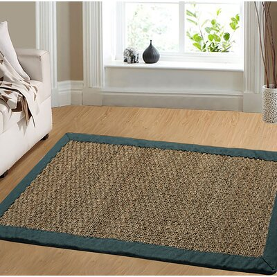 Pine Teal Area Rug Rug Size: Rectangle 5 X 7