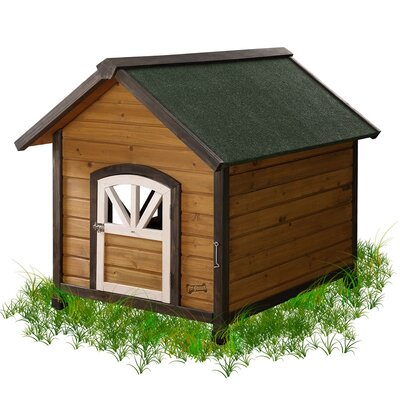 Doggy Den Dog House Size: Large (34.5 H x 31.25 W x 39.5 L)