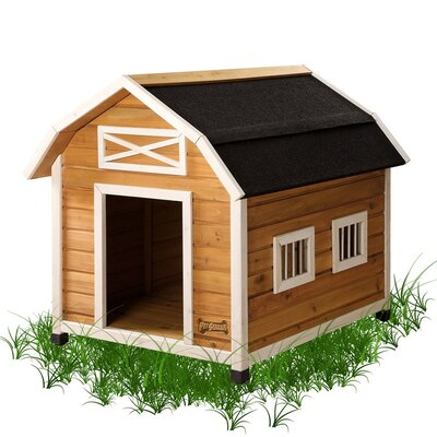 The Barn Dog House Size: Small (27.5 H x 25.5 W x 25.75 D)