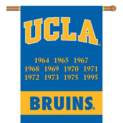 UCLA Bruins Champ Years 2-Sided Banner with Pole Sleeve 96253