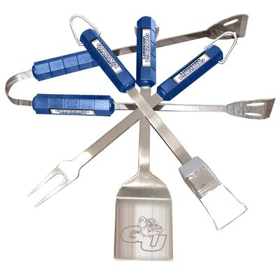 NCAA 4-Piece BBQ Grill Tool Set NCAA Team: Gonzaga