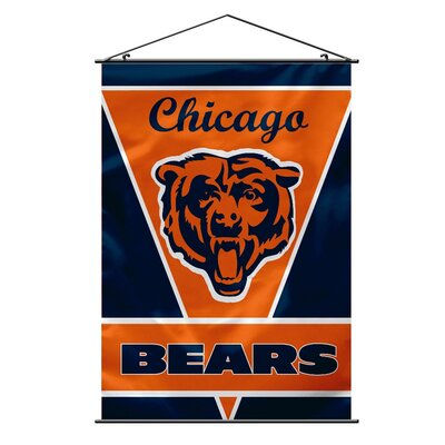 NFL Wall Banner Flag NFL Team: Chicago Bears 94701B