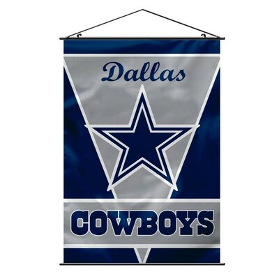 NFL Wall Banner Flag NFL Team: Dallas Cowboys 94703B
