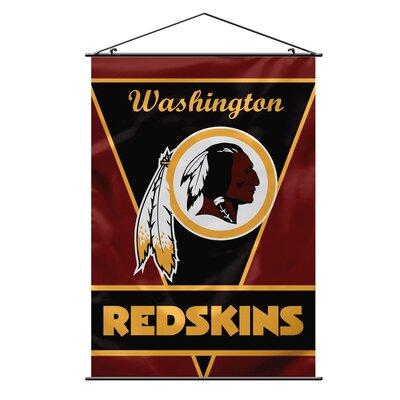 NFL Wall Banner Flag NFL Team: Washington Redskins 94707B