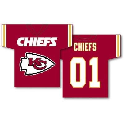 NFL Jersey 2-Sided Banner NFL Team: Kansas City Chiefs 93925B