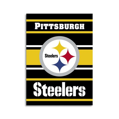 NFL 2 Sided House Banner NFL Team: Pittsburgh Steelers 94813B