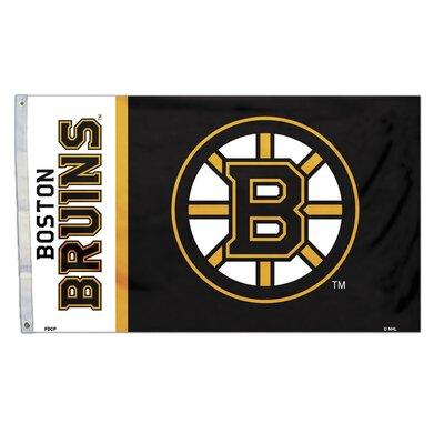 NFL Polyester 3 x 5 ft. Banner NHL Team: Boston Bruins 84208B