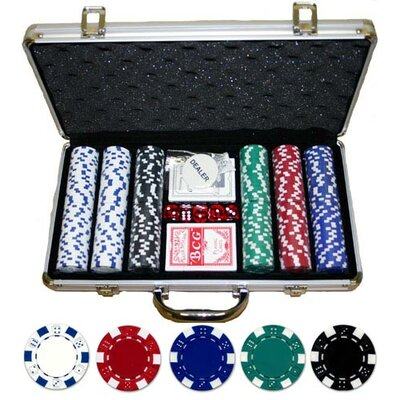 300 Piece Dice Poker Set 300-DC
