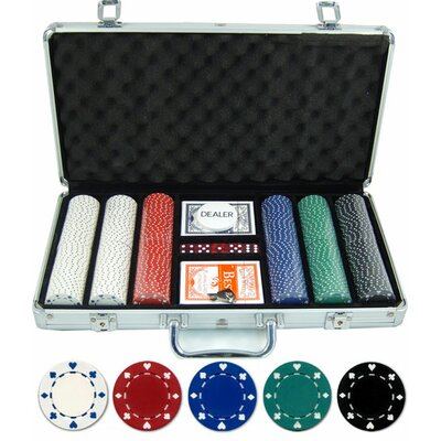 300 Piece Suited Poker Set 300-SU