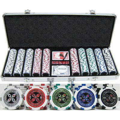 "500 Piece ""Ultimate Poker"" Chip Set 500ultimatepoker"