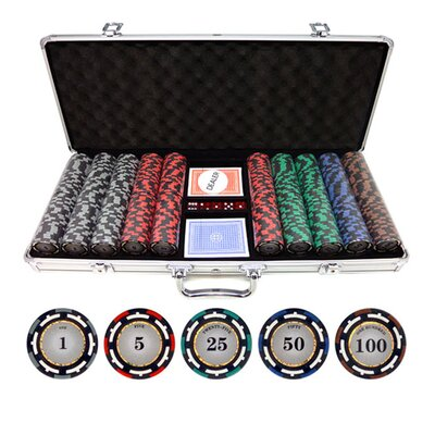 500 Piece Z-Pro Clay Poker Chips 500-zpro