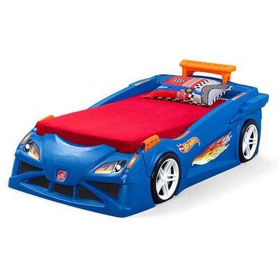 Hot Wheels� Race Twin Car Bed