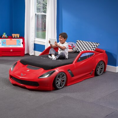 Corvette Twin Toddler Car Bed