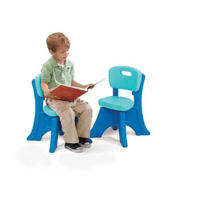 Step2 Play and Shade Kid's Desk Chair - Finish: Blue (Set of 2) at Sears.com