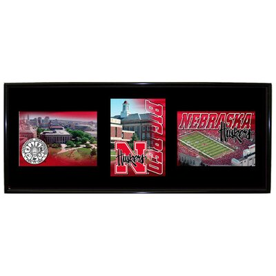 NCAA Black Graduate Frame NCAA Team: Nebraska