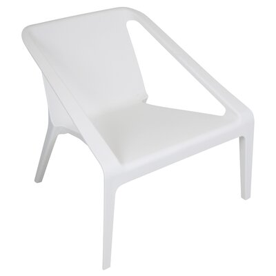 Transitions Lounge Chair Finish: White