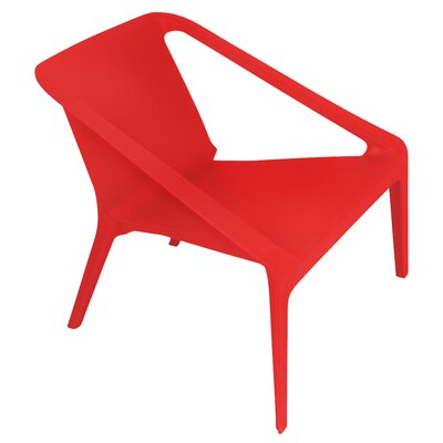 Transitions Lounge Chair Finish: Red