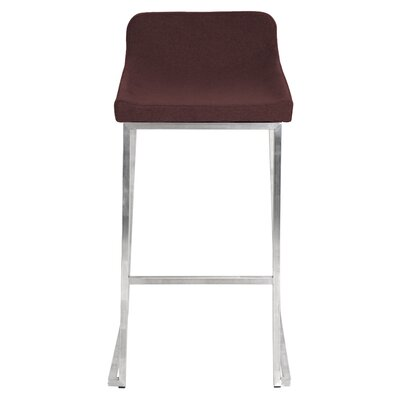 30 Bar Stool Upholstery: Burgundy