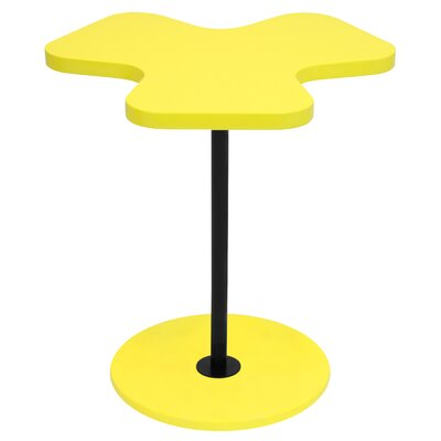 Three Leaf Clover End Table Color: Yellow