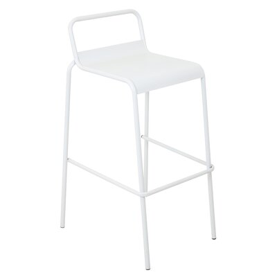 Goshorn 29.5 Bar Stool Finish: Matte White