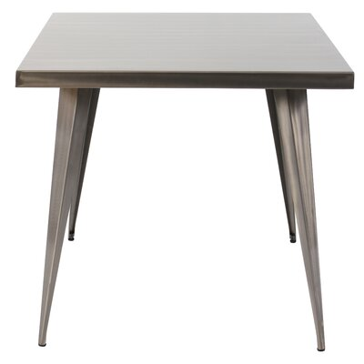 Kia Dining Table Finish: Silver