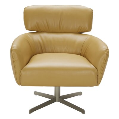Sergey Lounge Chair Upholstery: Yellow