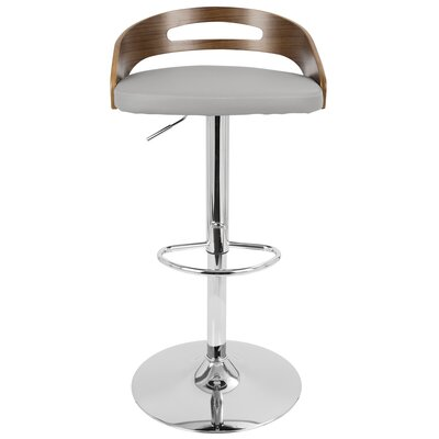 Karli Adjustable Swivel Bar Stool