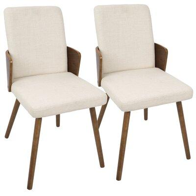 Katarina Side Chair Upholstery: Cream