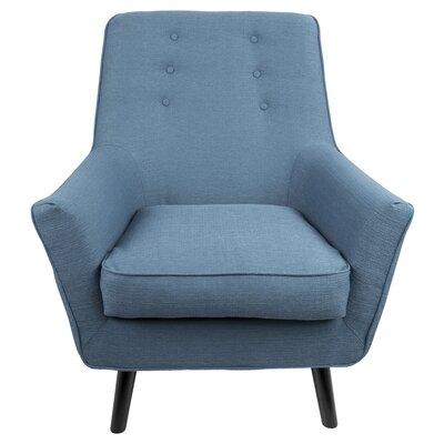 Bairdstown Armchair Upholstery: Blue