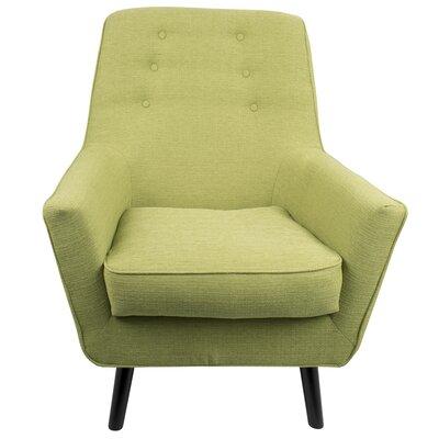 Bairdstown Armchair Upholstery: Green