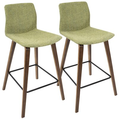 Colby 25 Bar Stool Finish: Walnut