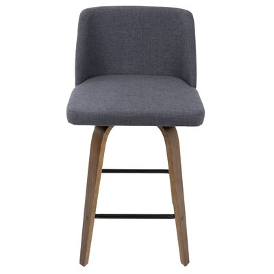 Fleeman 25.5 Bar Stool Finish: Blue