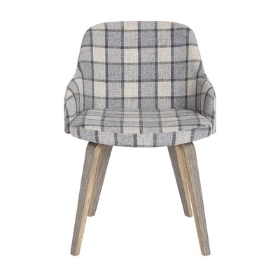 Shenna Mid-Century Modern Upholstered Dining Chair