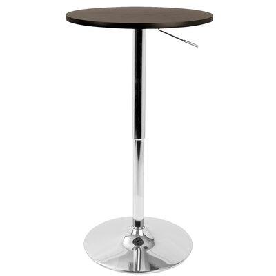 Coveney Adjustable Pub Table Finish: Brown