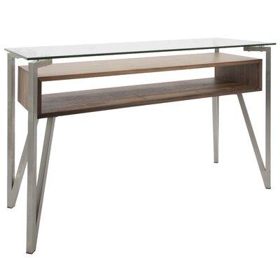 Roseto Mid-Century Modern Console Table