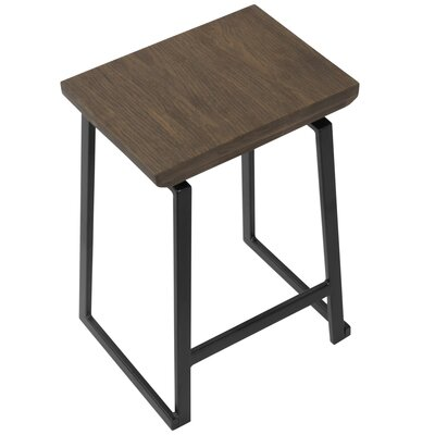 Platane Industrial Counter 24.25 Bar Stool