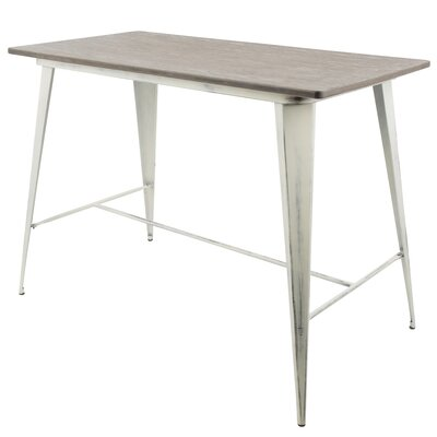 Bender Industrial Counter Height Dining Table