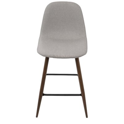 Weissman 24 Bar Stool Upholstery: Light Gray