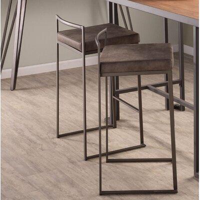 Gary 31 Bar Stool Upholstery: Stone