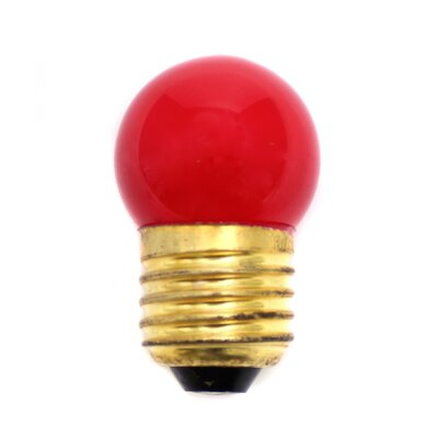 40W Red Halogen Light Bulb