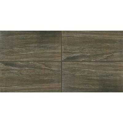 Bay Bridge 24 x 24 Porcelain Wood Look/Field Tile in Gray