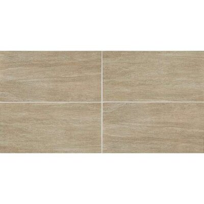 Bay Bridge 12 x 24 Porcelain Wood Look/Field Tile in Ashwood
