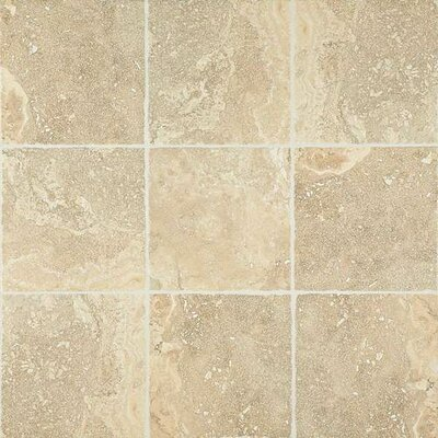 Cortona 13 x 13 Glazed Porcelain Field Tile in Tuscan Sun