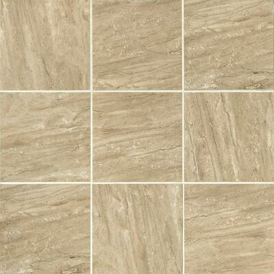 Florentine 10 x 14 Glazed Porcelain Field Tile in Nociolla