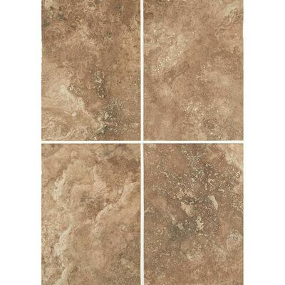 Esta Villa 10 x 14 Porcelain Field Tile in Cottage Brown