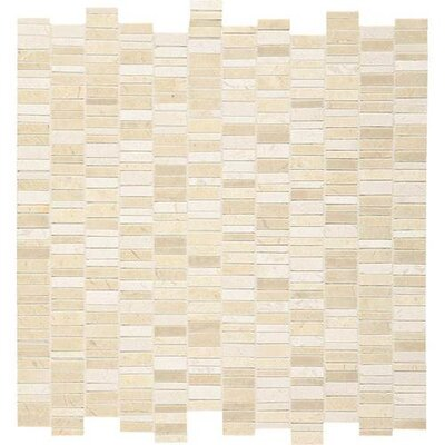 Harrison 12 x 12 Natural Stone Field Tile in Crema Marfil Classico