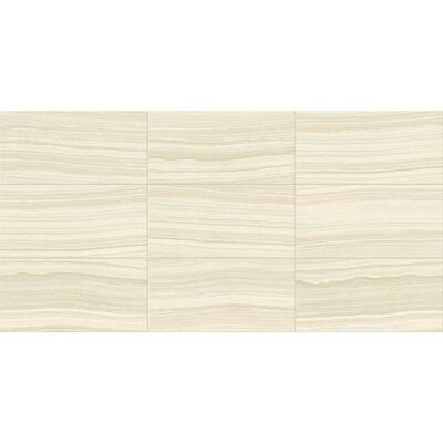 Santino 18 x 18 Porcelain Wood Look/Field Tile in Bianco