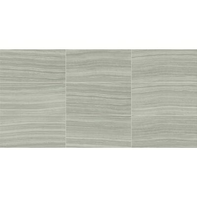 Santino 18 x 18 Porcelain Wood Look/Field Tile in Grigio