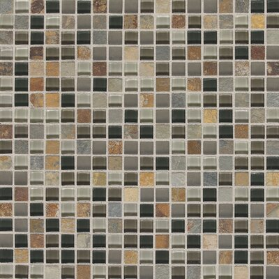 Pelham 5/8 x 5/8 Natural Stone Mosaic Field Tile in Flint